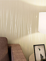 cheap -Art Deco 3D Wallpaper For Home Contemporary Wall Covering  Other Material Adhesive required Wallpaper  Room Wallcovering