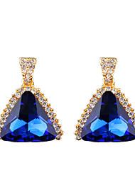 cheap -The Temperament Of Geometric Fashion In Europe And America Big Diamond Earrings
