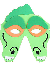 Maschere di Halloween Maschera animale Giocattoli A pelle di coccodrillo Tema Horror Cartoni animati 1 Pezzi Unisex Carnevale Giornata