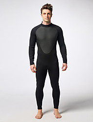 cheap -MYLEDI Men's 3mm Full Wetsuit Waterproof Thermal / Warm Wearable YKK Zipper Neoprene Diving Suit Diving Suits-Swimming Diving Winter