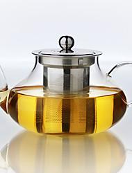 economico -1pc slap-up famiglia atmosferico tè di vetro spettacolo Set teiera