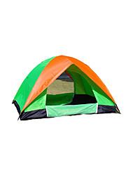 2 Pessoas Tenda Duplo Barraca de acampamento Um Quarto Barracas para Acampamento Família Prova-de-Água Á Prova-de-Chuva Respirabilidade