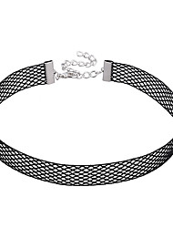 cheap -Single Strand Euramerican Choker Necklace Lace Choker Necklace , Wedding Party Special Occasion Engagement Daily Casual