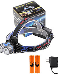 U'King Headlamps LED 4000 Lumens 3 Mode Cree XM-L T6 Yes Mobile Power Supply Easy Carrying High Power Multifunction Compact Size Emergency