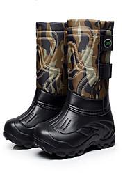 Men's Skiiing Snow sports Ankle Boots Winter Anti-Slip Wearproof Shoes Green Black 41   42  43  44  45  46