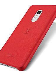 abordables -Coque Pour Xiaomi Ultrafine / Dépoli Coque Couleur Pleine Dur PC pour Xiaomi Redmi Note 4 / Xiaomi Redmi Note 3 / Xiaomi Mi Note 2 / Xiaomi Mi 5s