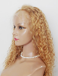 Top Quality  Kinky Curl Hair Wig Lace Front Synthetic Hair Wig For Black Women
