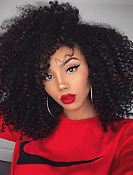 High Density Parting Curly Hair Wigs Brazilian Kinky Curly Human Virign Hair Wigs With Baby Hair Glueless Lace Front Wigs For Black Woman Wholesale