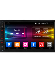 baratos -7 Polegadas 2 Din 1024 x 600 Android6.0 DVD Player Automotivo para Universal DAB - MP3 JPEG MP4 JPG GIF PNG TXT PDF
