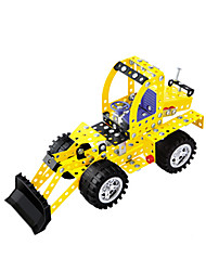 cheap -Building Blocks Toy Cars Toys Construction Vehicle Excavator Novelty DIY Car Excavating Machinery Plastic Metal Kids Children's Day Gift