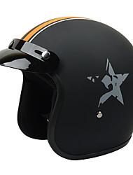 gxt g-386 fibra de vidro motocicleta meio capacete harley Coolmax material de revestimento de espuma capacete branco camada anti-raios
