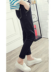 BF large size jeans female student trousers Korean loose harem pants feet collapse Spring Sign