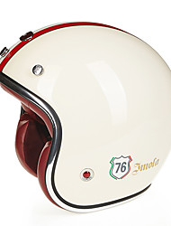 Недорогие -Веон б-108 мотоцикл половина шлем Харли шлем стекла стали антизапотевающим анти-УФ шлем безопасности однополой моды