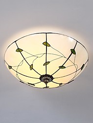 cheap -Beige Small Green for Tiffany Ceiling Lamps/ Designers GlassLiving Room / Bedroom