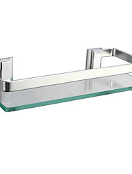 Bathroom Shelf / Anodizing Aluminum Glass /Contemporary