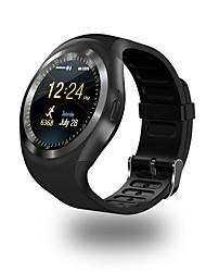 Недорогие -Смарт Часы YY Y1 для Android iOS Bluetooth Спорт Пульсомер Сенсорный экран Израсходовано калорий Длительное время ожидания / Датчик для отслеживания активности / Датчик для отслеживания сна