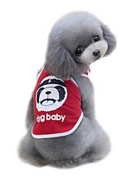 Hund T-shirt Weste Hundekleidung Niedlich Modisch Sport Bär Schwarz Rot Blau Kostüm Für Haustiere