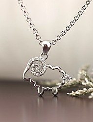 Pendants Sterling Silver Imitation Diamond Basic Animal Design Luxury Jewelry For Daily Casual 1pc