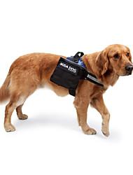 Chien Sac de transport Dog Paquet Animaux de Compagnie Transporteur Etanche Réfléchissant Portable Pliable Solide Noir