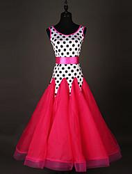 economico -Dovremo abiti da ballo della sala da ballo vestito dal polka di organza di prestazione delle donne