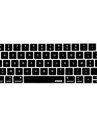 billige -xskn® fransk azerty silikone tastatur hud og berøringspanelet protektor for 2016 nyeste macbook pro 13,3 / 15,4 med touch bar nethinden