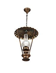 Rustique Rétro Globe Lampe suspendue Pour Salle de séjour Chambre à coucher Salle à manger AC 100-240V Ampoule non incluse