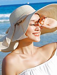 Women's Straw Floppy Hat Straw Hat Sun Hat,Casual Solid Summer