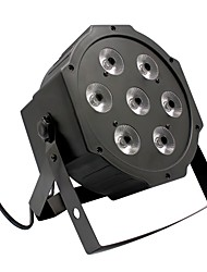 cheap -U'King® 7 RGB Leds 80W Stage Effect Par Light Stage Lighting Automatic Strobe Voice DMX Control 1pcs