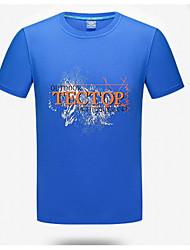 Per donna Unisex T-shirt da escursione Asciugatura rapida Top per Attività ricreative Estate M L XL