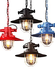 cheap -Pendant Light Downlight - Mini Style, Rustic / Lodge Vintage Globe Lantern Country Traditional / Classic Modern / Contemporary, 110-120V