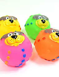 cheap -Cat Toy Dog Toy Pet Toys Ball Chew Toy Interactive Squeaking Toy Teeth Cleaning Toy Cartoon Squeak / Squeaking Elastic Halloween Dog