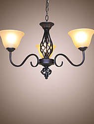 cheap -Chandelier ,  Traditional/Classic Rustic/Lodge Vintage Retro Country Others Feature for Mini Style Designers MetalLiving Room Bedroom