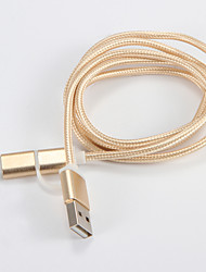 baratos -USB 2.0 USB 2.0 to USB 3.1 Tipo C Micro USB 3.0 1.0m (3 pés)