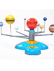 Недорогие -Игрушки на солнечной батарейке Наборы для моделирования Игрушки Круглый Электрический Куски ABS