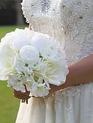 Beautiful Man-made Rose Phalaenopsis Bouquet Wedding Accessories