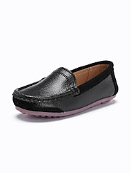 cheap -Boys' Shoes Patent Leather Spring Moccasin Loafers & Slip-Ons Split Joint for White Black Blue