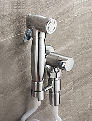 cheap -Classic Hand Shower Chrome Feature-Eco-friendly , Shower Head
