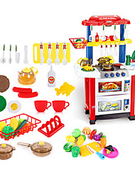 cheap -beiens Kids' Cooking Appliances Toys Toys LED Lighting Sound ABS Girls' 30 Pieces