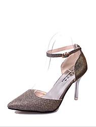 economico -Da donna Tacchi Footing Comoda Club Shoes Lustrini PU (Poliuretano) Primavera Estate Autunno InvernoMatrimonio Casual Formale Serata e