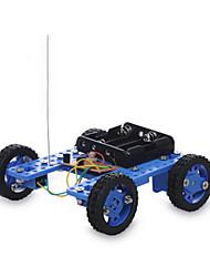 Solar Powered Toys DIY KIT Radio Control Toy Cars Race Car Toys Car Novelty DIY Boys' Girls' Pieces
