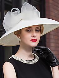 economico -cappelli di pizzo di lino copricapo festa di nozze elegante stile femminile classico