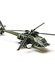 Недорогие -Пазлы 3D пазлы Строительные блоки Игрушки своими руками Вертолет 1 Оригинальные и забавные игрушки