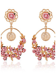 cheap -Women's Drop Earrings - Pink For Party / Birthday / Gift
