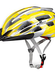 cheap -KUYOU Bike Helmet CE Cycling 24 Vents One Piece Sports PC EPS Mountain Cycling Road Cycling Recreational Cycling Cycling Hiking Climbing