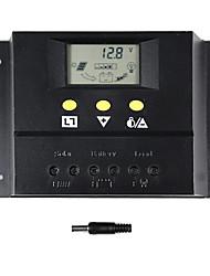 abordables -interrupteur y solaire 60a régulateur de charge solaire 12v 24v automatique pour 60i de panneaux solaires