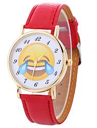 cheap -Women's Fashion Analog Stripe Ladies' Cartoon Display Strap Bohemia Quartz Wrist Watch