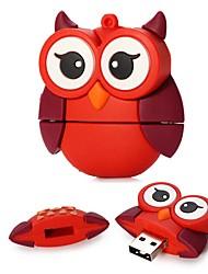 16gb большие красные глаза совы USB 2.0 флэш-диск для фестиваля подарок / бизнес / хранения