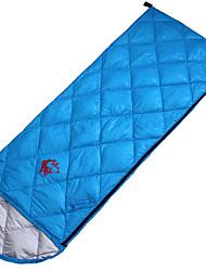 Недорогие -Спальный мешок Прямоугольный Односпальный комплект (Ш 150 x Д 200 см) 5 10 15 Утиный пухX72 Походы На открытом воздухе Сохраняет тепло