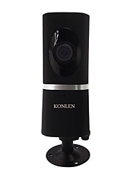 economico -KONLEN® IP512, Support Android/IOS mobile APP, PC not support at present. 2 MP Al Coperto with Giorno Notte Fisso 128 ,(Giorno Notte