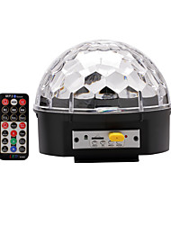 cheap -U'King 18W LED Stage Lights Portable Easy Install Sound-Activated Remote-Controlled RGB AC100-240